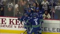 Daniel Sedin Incredible Goal vs Calgary Flames (April 10th, 2010)