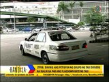 LTFRB yet to decide on taxi fare hike