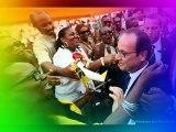 Déplacement en Guadeloupe du Président de la République Française en GUADELOUPE 10 Mai 2015 Lieu : Basse-Terre, France