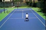 BEST tennis trickshots on the planet!!!!!!!!