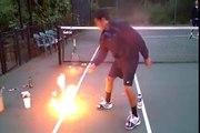 Amazing Tennis Trickshots!!!!!!!!!!