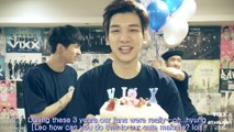 [ENG SUB] VIXX 3rd Anniversary Celebration Party