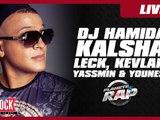 Dj Hamida, Yassmin, Kalsha, Kevlar, Leck, Younes, live de folie dans Planète Rap