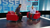 George Stroumboulopoulos And Russell Peters Get Comfy In The Red Chairs