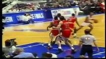 Michael Jordan / Scottie Pippen vs Patrick Ewing, playoffs 1993,bulls vs knicks game 5