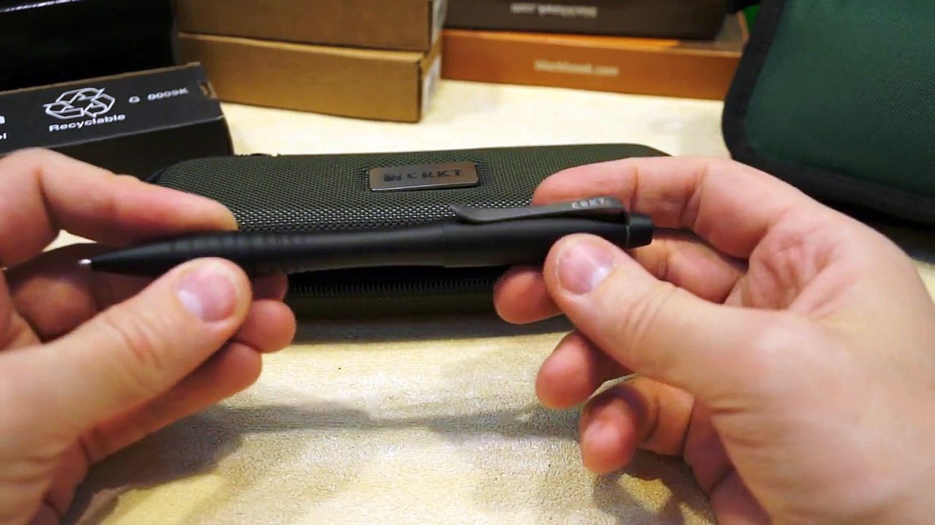 Тактическая ручка CRKT James Williams Tactical Pen