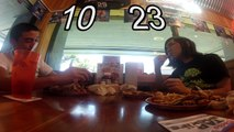 """Hooters AYCE Wings """"Contest"""" (National Chicken Wing Day)"""