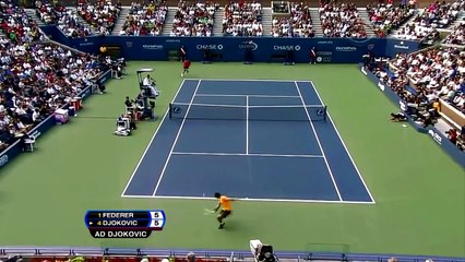 Roger Federer - Top 10 Around the net
