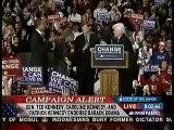 Ted Kennedy Endorses Barack Obama 1 of 2