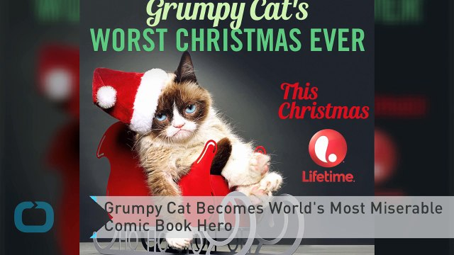 Grumpy Cat Becomes World's Most Miserable Comic Book Hero