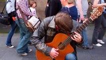 William Cashel Guitarist Festival Fringe Royal Mile Edinburgh Scotland August 4th