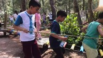 17 MAYIS 2015 ATATÜRK İLKOKULU 3/F SINIFI DİNOZOR PARKI'NDA