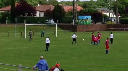 Penalty lors du match Nommay Vieux Charmont 2 - FCBM1