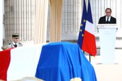 Cérémonie d'hommage solennel de la Nation à Pierre Brossolette, Geneviève de Gaulle-Anthonioz, Germaine Tillion et Jean Zay #Pantheon