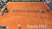 Mirjana Lucic Baroni  vs Simona Halep Full Highlights HD French Open 2015 Round2