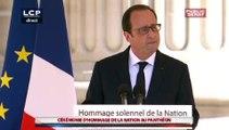 Panthéon : le discours de François Hollande