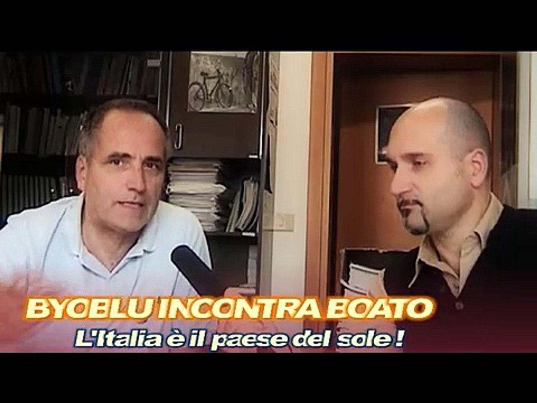 Byoblu incontra Boato - Rinnovabili e fotovoltaico nel 2008