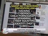 Aquino signs Cybercrime Prevention Act into law