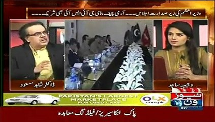 Live with Dr Shahid Masood 27th May 2015