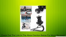 EEEKit 4-in-1 Accessories Kit for Sony Action Cam HDR-AS10/ HDR-AS15/ HDR-AS20/HDR-AS30V/HDR-AS100V/ HDR-AZ1 Mini /Drift Innovation Stealth 2/Drift Innovation Stealth 2/Drift Innovation HD Ghost/GoPro HD Hero 4 Black/Silver/GoPro HD Hero 3+ 3 2 1/iON Air