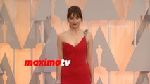 Dakota Johnson | Oscars 2015 | Fashion Arrivals