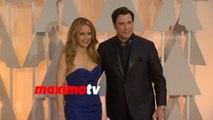 Kelly Preston & John Travolta | Oscars 2015 | Fashion Arrivals