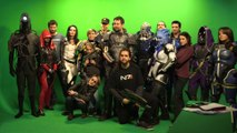 Making-OF Papy grenier Mass Effect