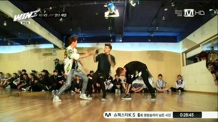 win yg vs jyp dance battle jyp trainee dance team got7
