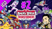 Let's Play Angry Birds Transformers - Episode 2 GamePlay + Walkthrough