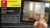 A vendre - maison - SAINT SULPICE SUR RISLE (61300) - 6 pièces - 83m²