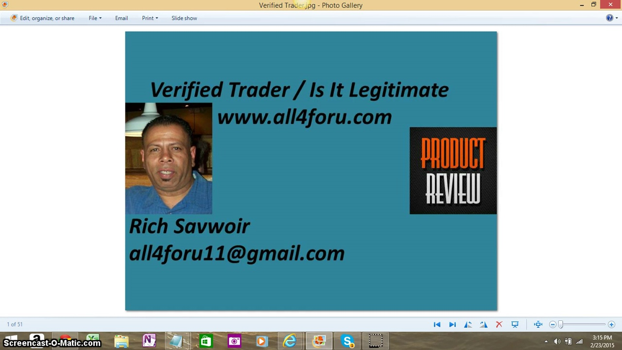 Verified Trader Is It A Scam