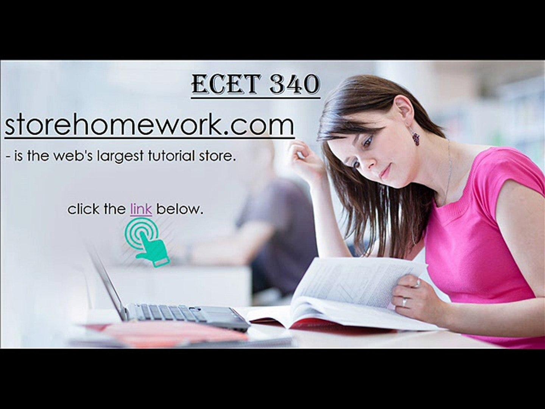 ECET 340 Week 4 HomeWork 4