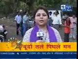 Rajeev Khandelwal at Kahiin to hoga set Rain scene Sbs Video