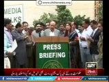 Sindh Govt gainst Long March, Shehla Raza 's Propeganda against Long March