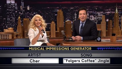Christina Aguilera smashes an impression of Britney Spears, plus Cher + Shakira too!