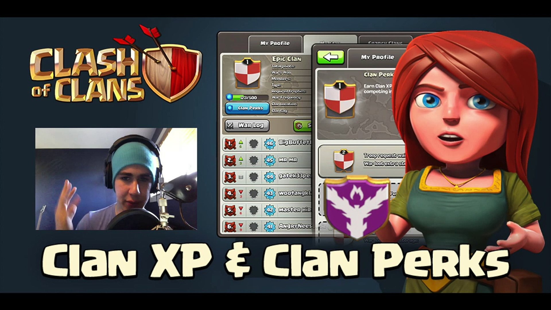 CLASH OF CLANS-NEW! CLAN WARS XP UPDATE LEAKED!(OMG)