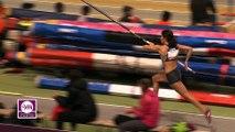 Saut à la perche F (Victoire de Marion Fiack avec 4,60 m)