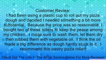 Norpro 3077 Wooden Pastry and Pizza Roller Review