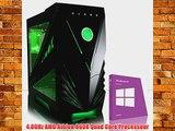VIBOX Orion 53 - 4.0GHz AMD Quad Core Desktop Gamer Gaming PC Ordinateur de Bureau avec Windows