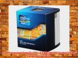 Intel Processeur Xeon E3-1275 / 3.4 GHz LGA1155 Socket L3 8 Mo Cache Version bo?te