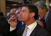 Manuel Valls ivre au Salon de l'Agriculture - ZAPPING ACTU DU 24/02/2015