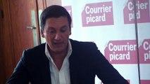 Dany Brillant au Courrier picard