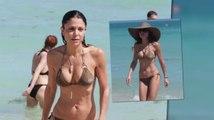 Bethenny Frankel Flaunts Her Bikini On The Beach in Miami