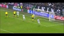 Morata Goal - Juventus 2-1 Borussia Dortmund - 24-02-2015 Champions League - Playoffs