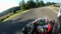 Karting TonyKart Rotax Max, 1° séance d'essai course de club Autoreille le 21_08_10 (720p)