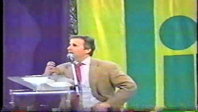Henry Winkler 'The Fonz' speaking at Health South at the Galleria Birmingham Alabama mid 1990's part 2