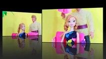 ALS Ice Bucket Challenge FROZEN ANNA & Kristoff Barbie Doll Parody AllToyCollector