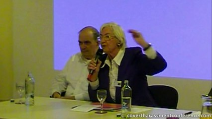 Rauni Kilde during the panel discussion