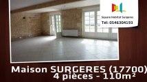 A louer - Maison/villa - SURGERES (17700) - 4 pièces - 110m²