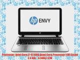 HP ENVY 15t i7-4710HQ Quad Core 8GB RAM 1TB HDD Windows 8.1 15.6 inch Full HD Notebook Laptop